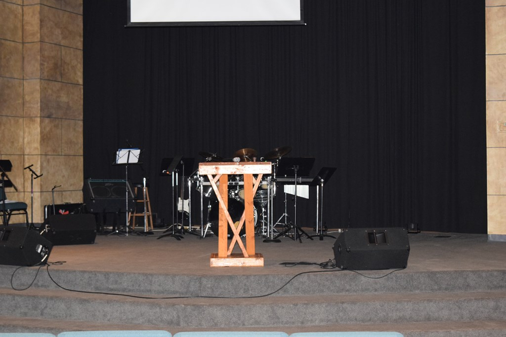 Stage or Pulpit