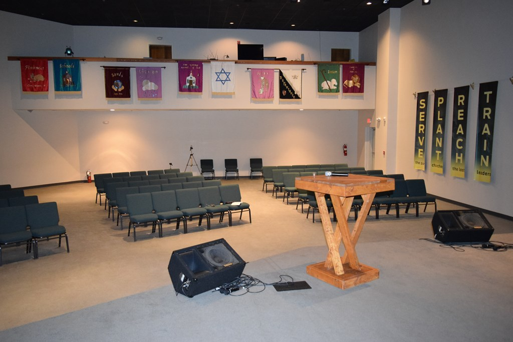 View from Stage or Pulpit